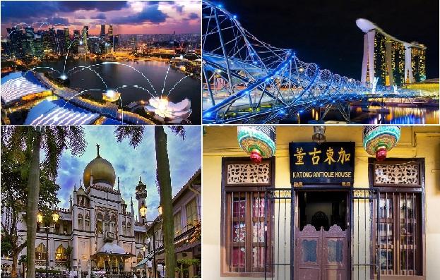 Singapore thành phố thông minh hiện đại nhưng vẫn giữ lại những sản phẩm của những kiến trúc cổ